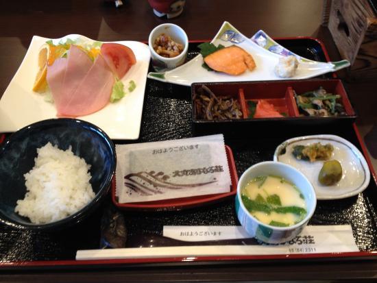 Tenei-mura, Japón: 朝食