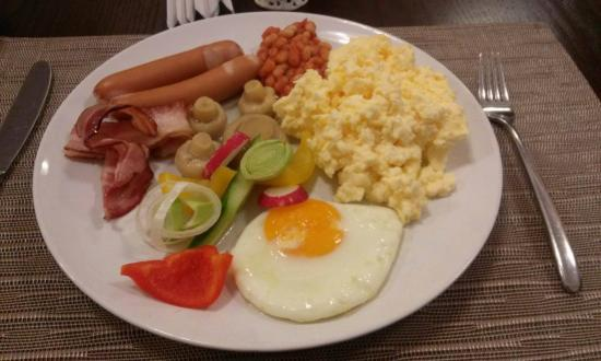Hotel Garden Palace: Breakfast - january 2016