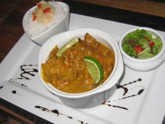 Le Pacha : Lambis curry coco