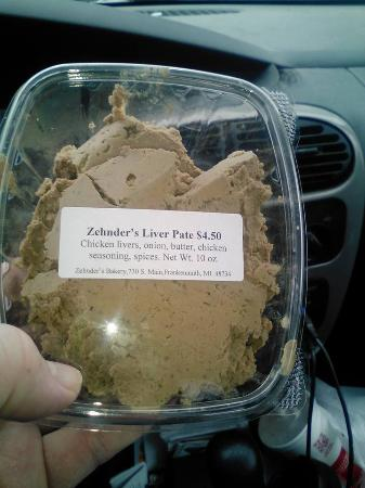 Zehnder's of Frankenmuth: Don't knock this stuff, get their cheese spread and garlic toast for an amazing snack!