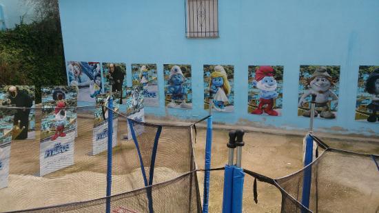 Хускар, Испания: Atracción infantil.
