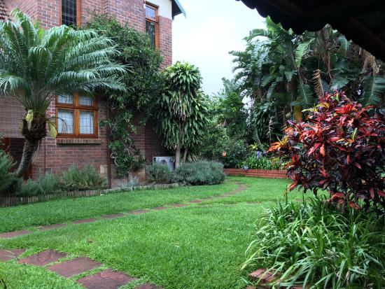 Ridgeview Lodge: Back garden