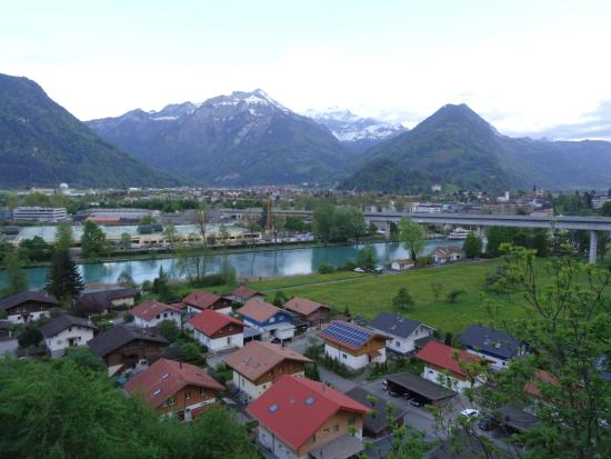 Goldswil, Schweiz: View from our room windows