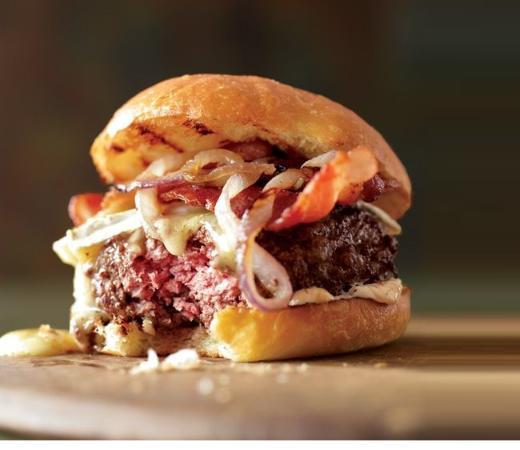 hamburger balck angus Picture of Codice A Bar