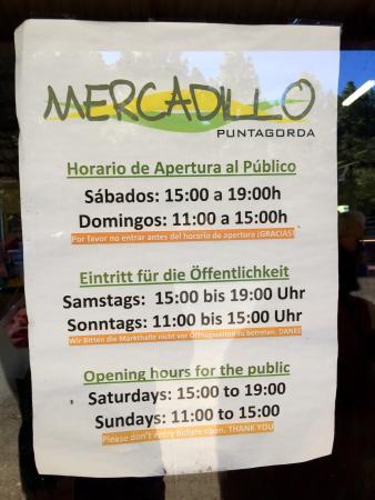Mercadillo del Agricultor de Puntagorda