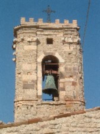 Roccascalegna, Italie: Campanile della Chiesa di S.Pietro