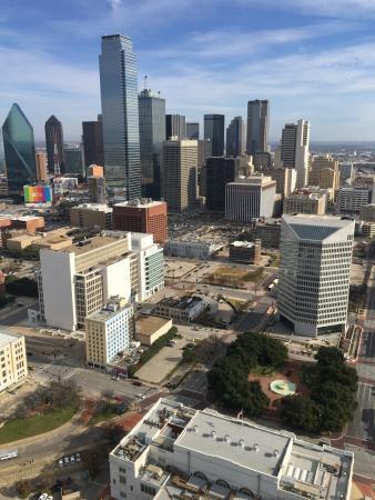 Reunion Tower View of Dallas - Picture of Hyatt Regency