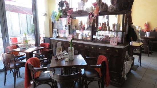 Wertheim, Alemania: Blick ins Cafe