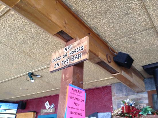"Fairplay, CO: ""No Dogs or Horses in the Bar"""