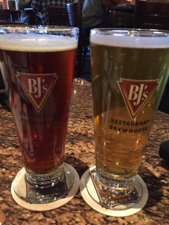 Chino Hills, CA: MMM Pumkin Beer and BJ's lightest