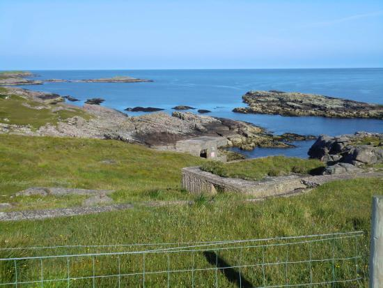 Poolewe, UK: View from headland