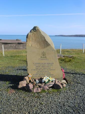 Poolewe, UK: Arctic Convoy Memorial