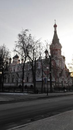 The Pakrouskaya Orthodox Church