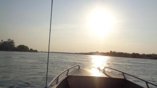 Lower Zambezi National Park, Zambia: On the Zambezi river