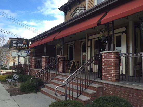 Hackettstown, Nueva Jersey: Side entrance