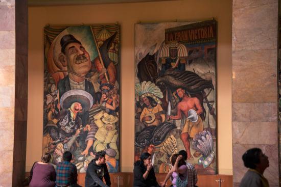 Murales De Diego Rivera En Bellas Artes