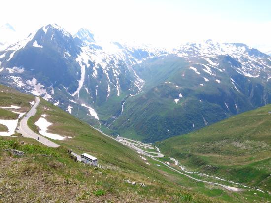 Ulrichen, Schweiz: Nufenen Pass