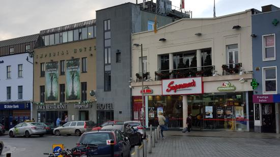 Imperial Hotel Galway View Of From The Taxi Stand