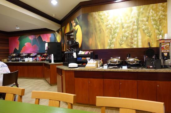 Fairfield Inn & Suites Yuma: Breakfast