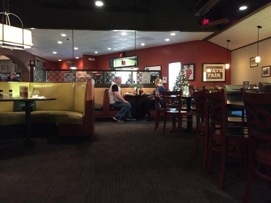 Shively, KY: Seating and bar area
