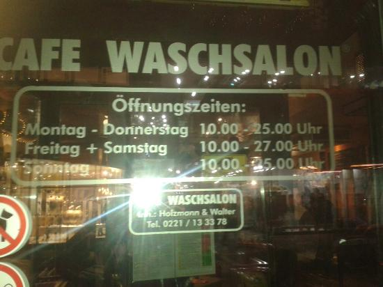 cafe waschsalon ehrenstra e k ln picture of cafe waschsalon cologne tripadvisor. Black Bedroom Furniture Sets. Home Design Ideas