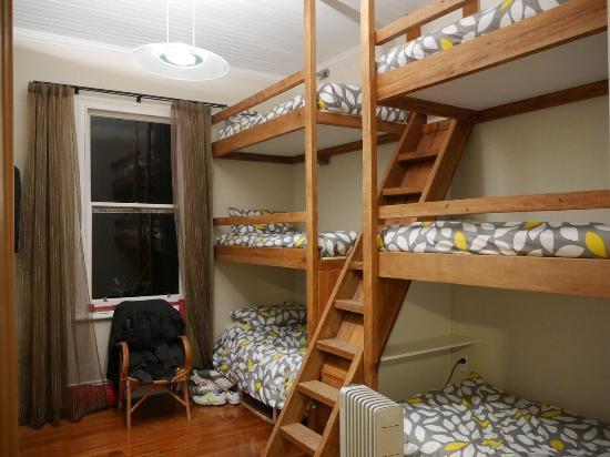 Kingston, Nieuw-Zeeland: The BunkBed room