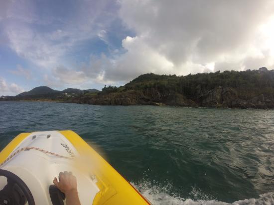 Κόλπος Simpson (Λιμνοθάλασσα), Άγιος Μαρτίνος: Durante o passeio