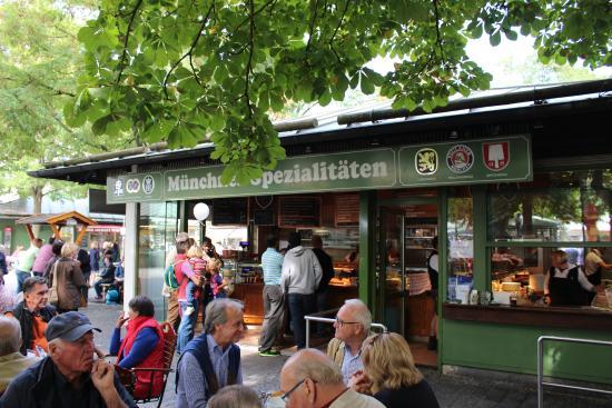 Biergarten Viktualienmarkt: Viktualienmarkt