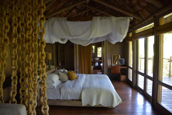 andBeyond Lake Manyara Tree Lodge: View from inside our room!