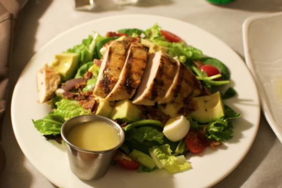 Hilton Alexandria Old Town: close up on the salad