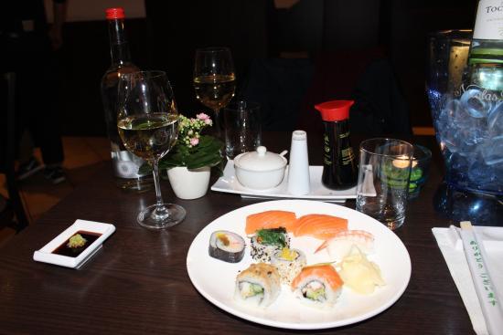 Mr. Cherng: Sushi und Wein