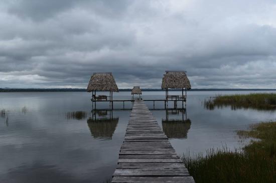 La Casa De Don David: Swimming dock near hotel