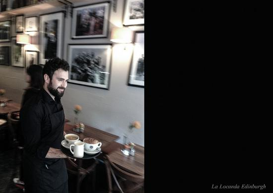 La Locanda Italian Bistro Edinburgh: La Locanda service with a smile