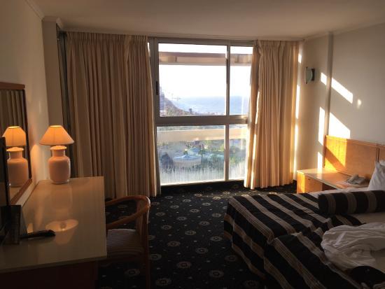 Seasons Netanya Hotel: room with a view