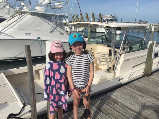 Great Abaco: Kids feel safe on this tiny island