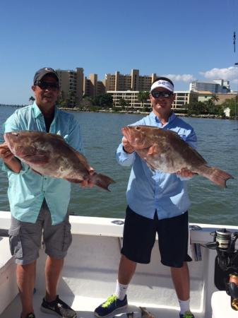 Great father son deep sea fishing charters offshore ft for Cape coral fishing charters