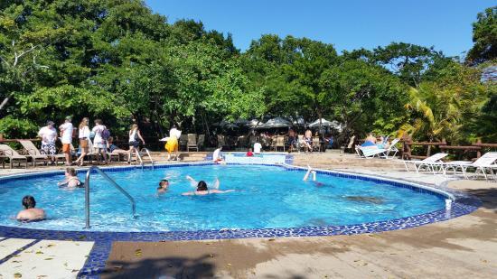 Maya Key: My favorite place--the swimming pool