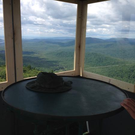Hadley, NY: top of the tower