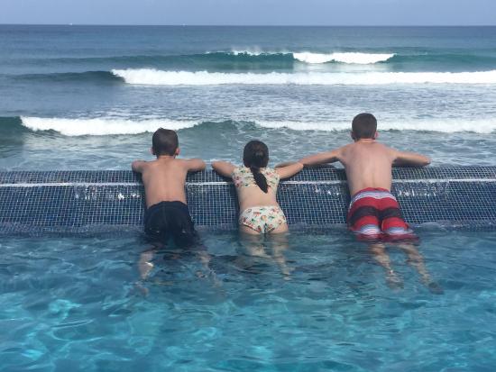 Casa La Lanchita: The breathtaking view from the pool
