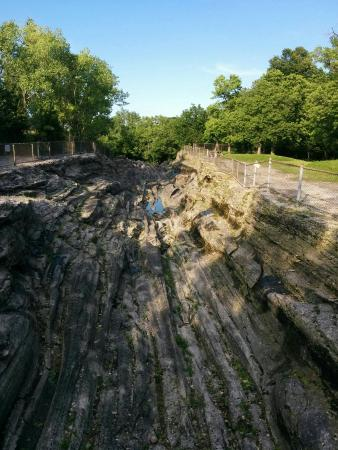 Kelleys Island, OH: Glacial Grooves