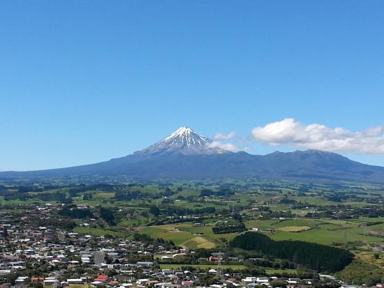 New Plymouth, Nieuw-Zeeland: Facing East
