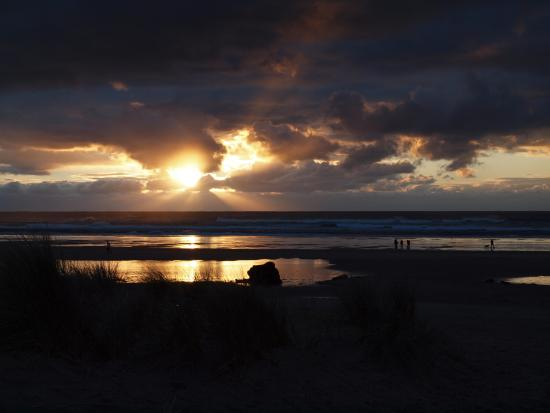 Sunset at Manzanita Beach