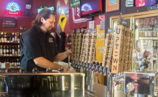 Uptown Market: So Many good Beers on Tap which to choose