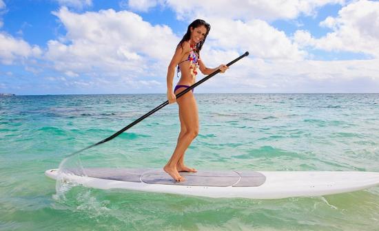 Isla de Singer, FL: Paddle Boarding