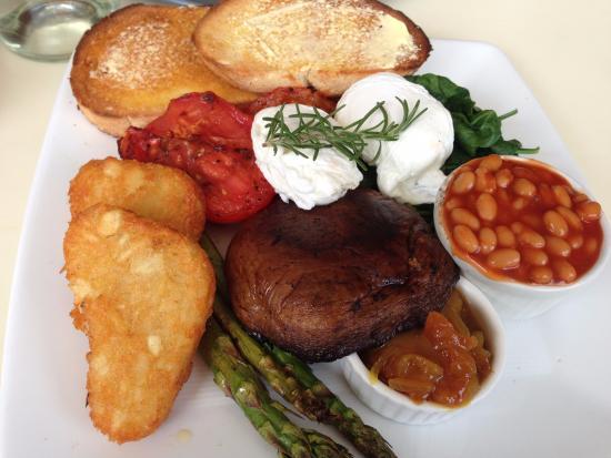 Thyme Cafe Bar: Vegetarian Breakfast