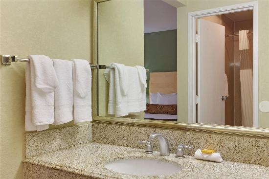 La Quinta Inn Roanoke Salem: Guest room
