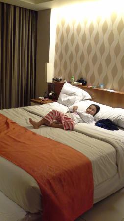 Adhi Jaya Sunset Hotel: Prepare for sleeping