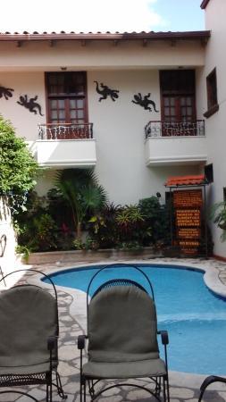 Hotel Plaza Copan: Vista desde mi habitacion
