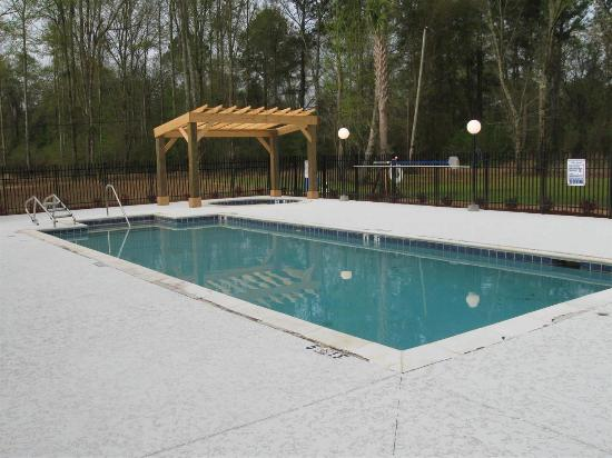 Satsuma, AL: Pool view