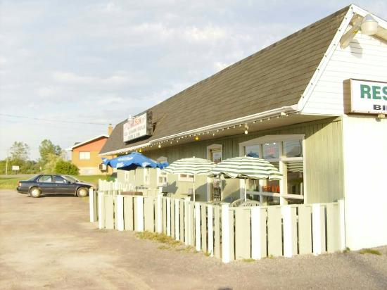 Berthierville, Kanada: Restaurant Le Baladin